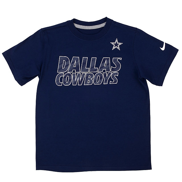 Dallas Cowboys Youth Nike Faster Short Sleeve Tee