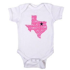 Dallas Cowboys Sparrow Infant Bodysuit