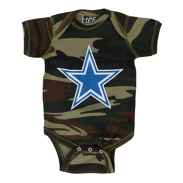 Dallas Cowboys Camo Bodysuit