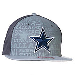 Dallas Cowboys Reflective New Era 2014 Alternate Draft 9Fifty
