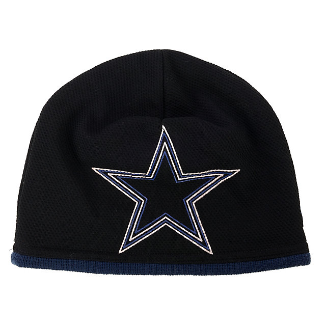 Dallas Cowboys New Era Logo Frame Knit Cap