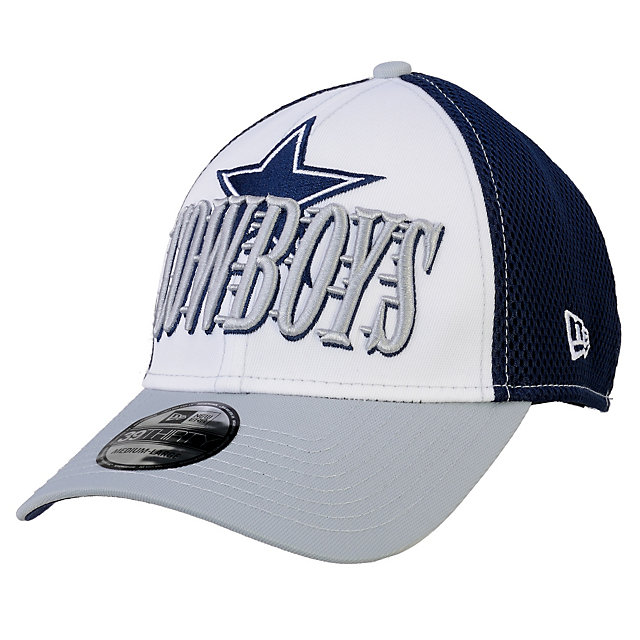 Dallas Cowboys New Era Word Rush Neo 39Thirty Cap