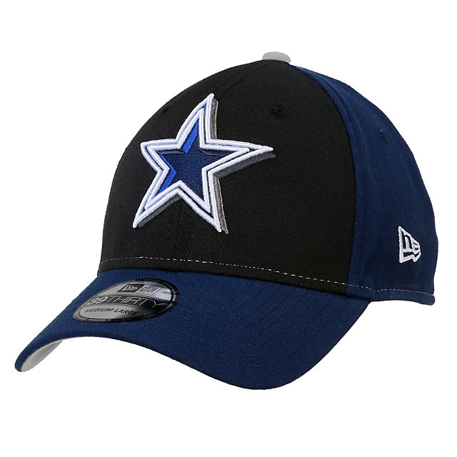 Dallas Cowboys New Era Oblique Classic 39Thirty Cap