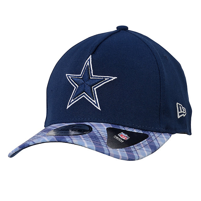 Dallas Cowboys New Era Plaid Pop Viza 2 39Thirty Cap