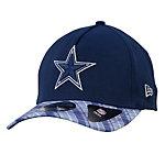 Dallas Cowboys New Era Plaid Pop Viza 2 39Thirty Cap
