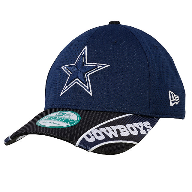 Dallas Cowboys New Era Visor Streak 9Forty Hat