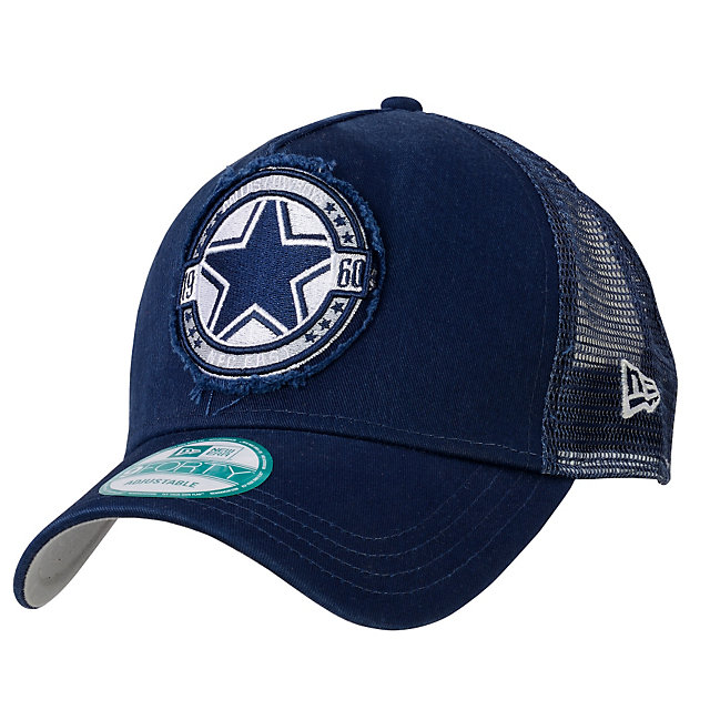 Dallas Cowboys New Era Truck Snap 9Forty Cap