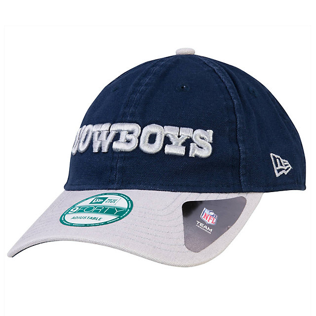 Dallas Cowboys New Era Team Canvas 9Forty Cap