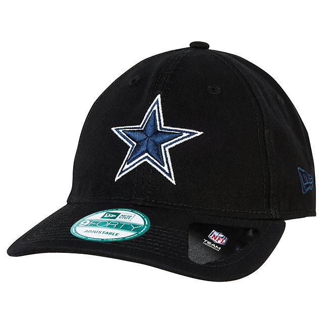 Dallas Cowboys New Era Blacked Out Shoreline 9Forty Cap