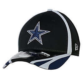 Dallas Cowboys New Era Training 39THIRTY Black Team Cap
