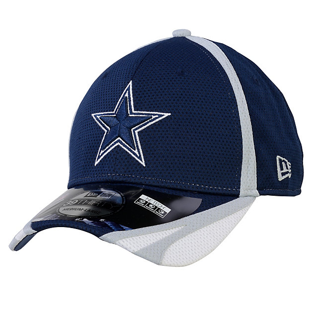 Dallas Cowboys New Era Training 39Thirty Primary Team Cap
