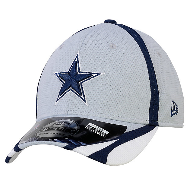 Dallas Cowboys New Era Training 39Thirty Reverse Team Cap