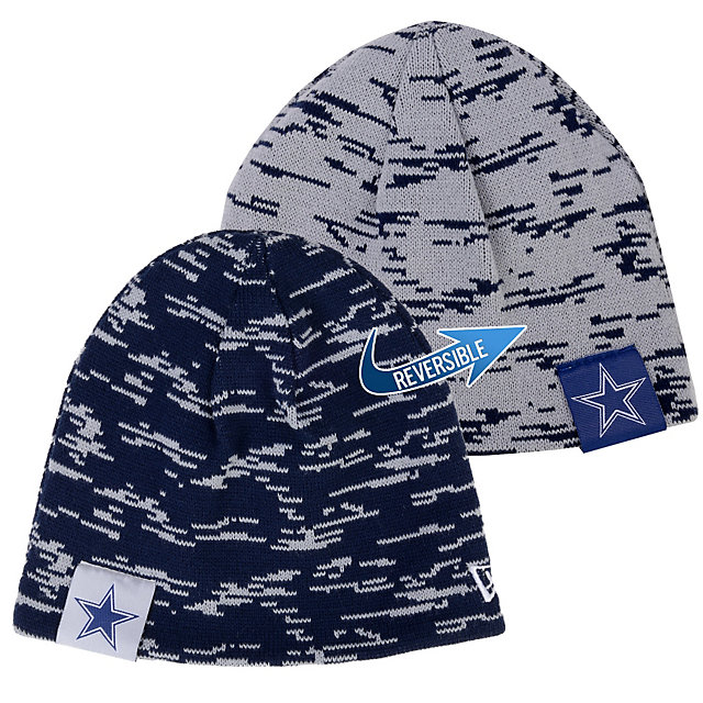 Dallas Cowboys New Era Team Interference Knit Cap