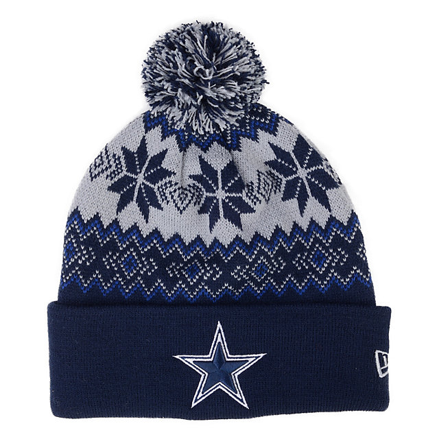 Dallas Cowboys New Era Snow Burst Knit Cap