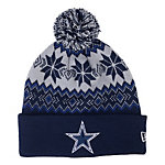 Dallas Cowboys New Era Snow Burst Knit Cap
