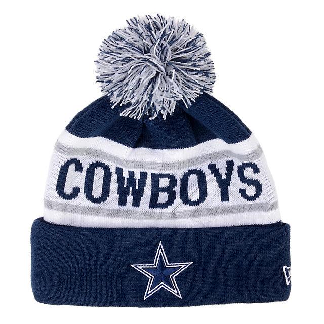 Dallas Cowboys New Era Biggest Fan Redux Knit Cap Cold