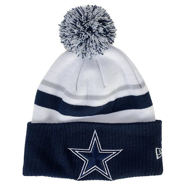 Dallas Cowboys New Era Patch Is Proof Knit Cap