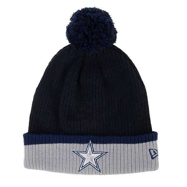 Dallas Cowboys New Era Cuff Popper Knit Cap
