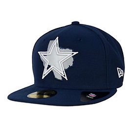 Dallas Cowboys New Era State Flective 59Fifty Cap