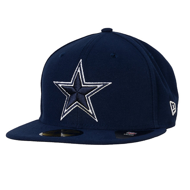 Dallas Cowboys New Era Patch Enthusiast 59Fifty Cap