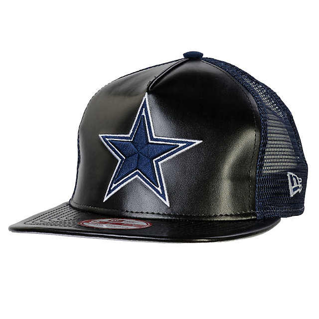 Dallas Cowboys New Era Leatherette Mesh Redux 9Fifty