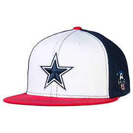 Dallas Cowboys Marvel Captain America Hat