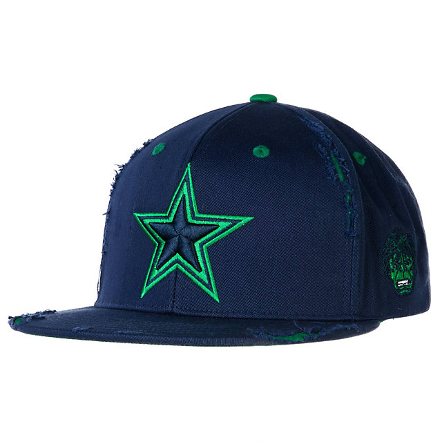 Dallas Cowboys Marvel Hulk Green Machine Cap