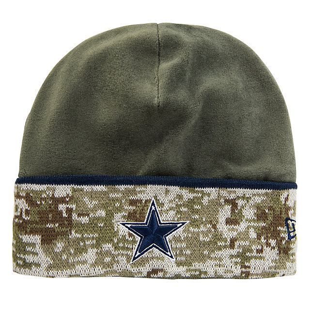 Dallas Cowboys New Era Salute To Service Knit Cap