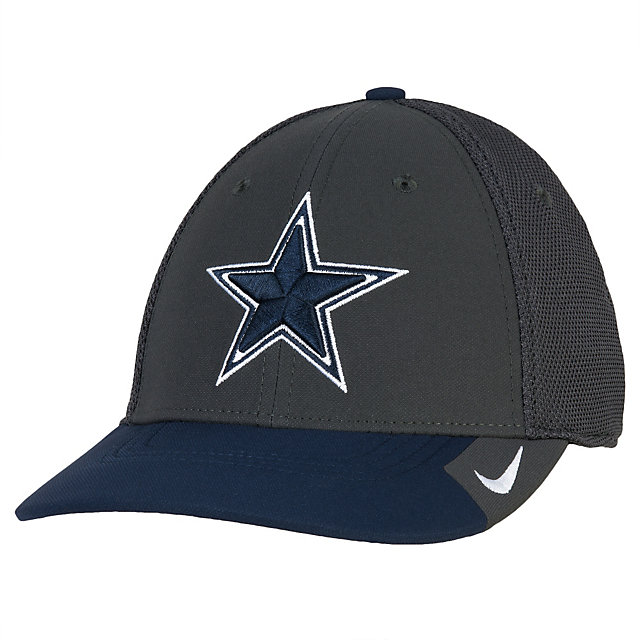 Dallas Cowboys Nike L91 Colorblocked Swooshflex Cap