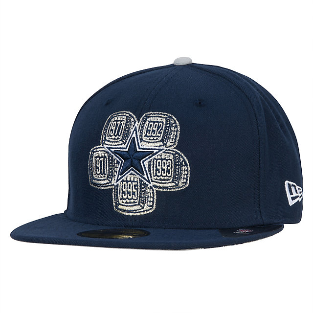 Dallas Cowboys New Era 5-Time Champions 59Fifty Cap