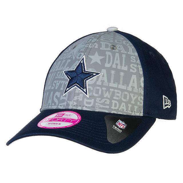Dallas Cowboys Reflective New Era 2014 Ladies Draft Cap