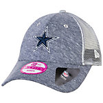 Dallas Cowboys New Era Womens Tri Blend Trucker Cap