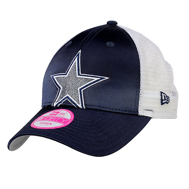 Dallas Cowboys New Era Women's Satin Chic 9Forty Cap