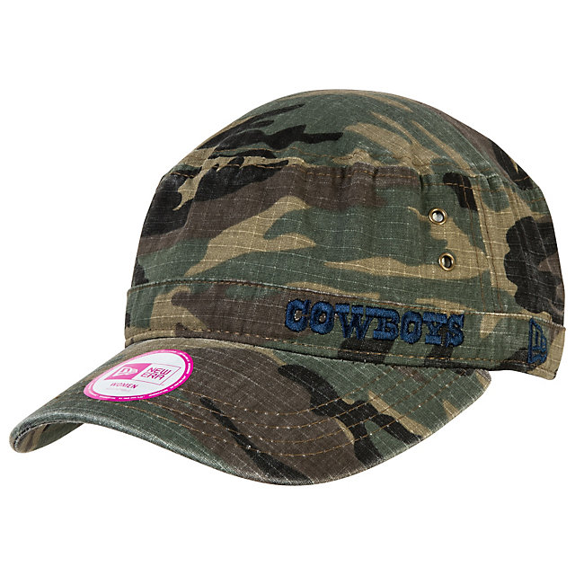 Dallas Cowboys New Era Womens Camo Fever Military Cap