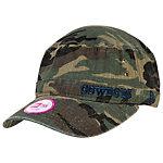 Dallas Cowboys New Era Womens Camo Fever Military Cap