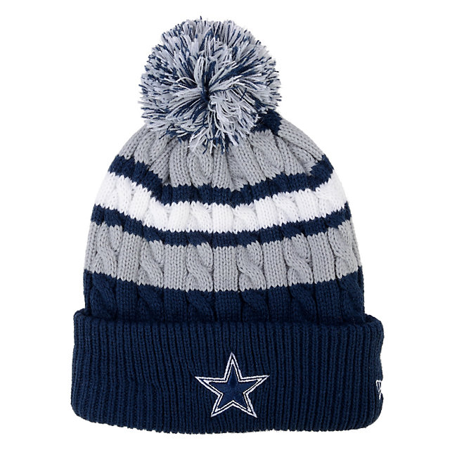 Dallas Cowboys New Era Wintry Warm Knit Cap