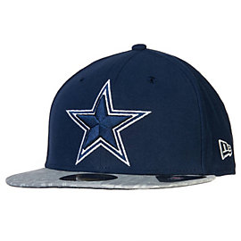Dallas Cowboys Reflective New Era 2014 Youth Draft 59Fifty