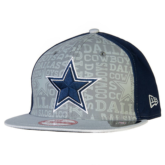 Dallas Cowboys Reflective New Era Youth 2014 Draft 9Fifty