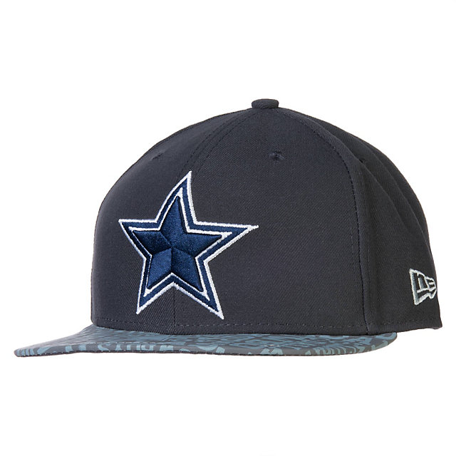 Dallas Cowboys Reflective New Era 2014 Alternate Youth Draft 59Fifty