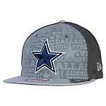 Dallas Cowboys Reflective New Era 2014 Alternate Youth Draft 9Fifty