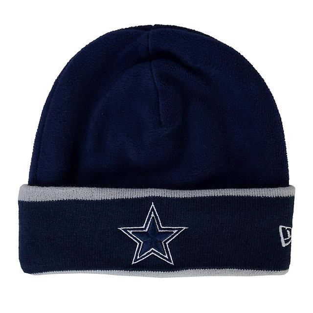 Dallas Cowboys New Era Youth Sideline Tech Knit Cap