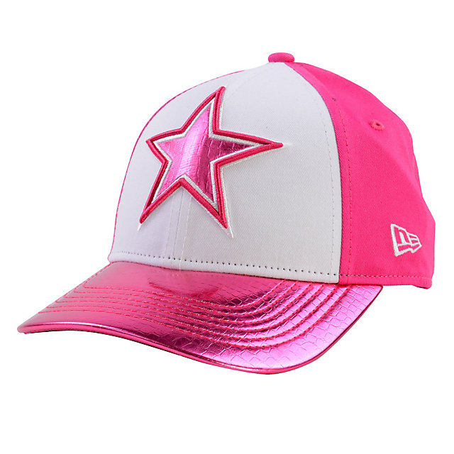 Dallas Cowboys New Era Girls Appli-Shine 9Forty Cap