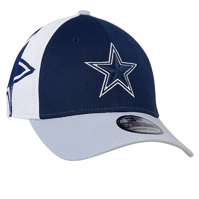 Dallas Cowboys New Era Youth Logo Stretch 39Thirty Cap