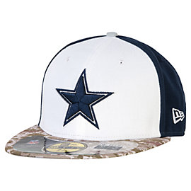 Dallas Cowboys New Era Youth Salute To Service 59Fifty Cap