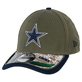 Dallas Cowboys New Era Youth Salute To Service 39Thirty Cap