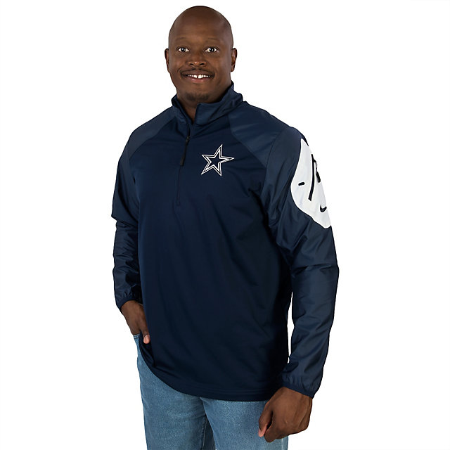 Dallas Cowboys Nike Defender Hybrid Half Zip Top