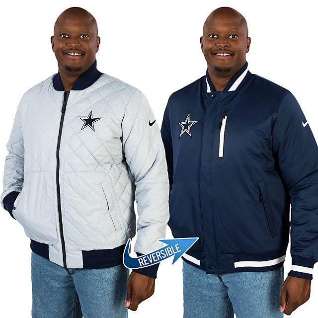 Dallas Cowboys Nike Warp Padded Reversible Defender Jacket