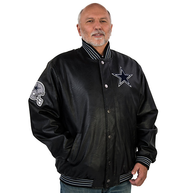 Dallas Cowboys Black Varsity Jacket