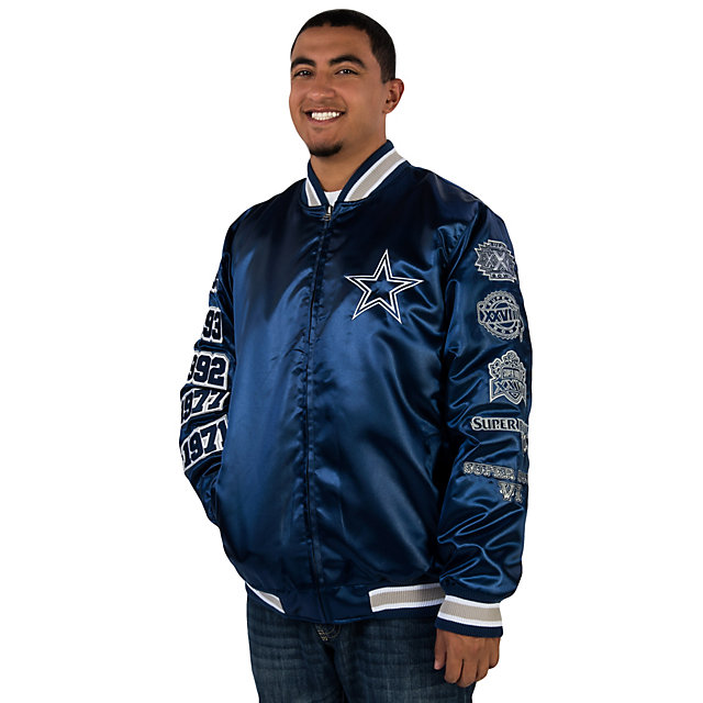 Dallas Cowboys Commemorative Satin Jacket