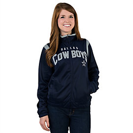 Dallas Cowboys Womens Primetime Track Jacket